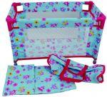 Кукольная кроватка Dolls World для путешествий, в сумке (8201)