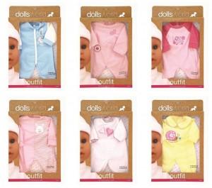 Одежда Dolls World для куклы до 41 см (8502)