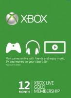 Игра Ключ Xbox Live Gold - 12 месяцев