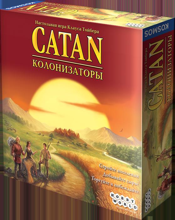 Купить Настольная игра 'Колонизаторы (Четвертое Издание)', Hobby World