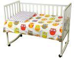 Комплект постельного белья РУНО детское (932.137Сови)