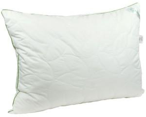 Подушка RUNO 50*70 см. силиконовая в бамбуковом чехле (310БСУ)