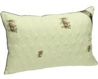 Подушка RUNO 50*70 см. силиконовая в стеганном чехле из шерсти (310SHEEP)
