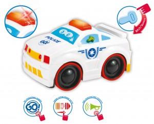 фото Сенсорная полицейская машина BeBeLino 'Коснись и езжай' (58010) #2