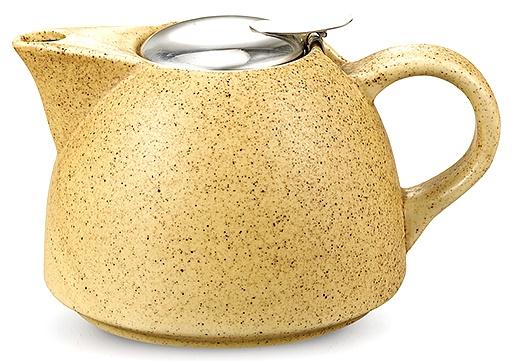 Купить Заварочный чайник с ситечком Fissman керамический, 650 мл (TP-9298.650)