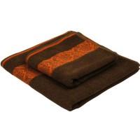 Полотенце махровое 70х140 Руно (070140ТЖ_шоколад)