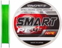 Шнур Favorite Smart PE 4x 150м (салат.) #0.3/0.09мм 2.3кг (16931041)