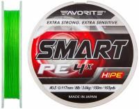 Шнур Favorite Smart PE 4x 150м (салат.) #0.5/0.117мм 3.6кг (16931038)