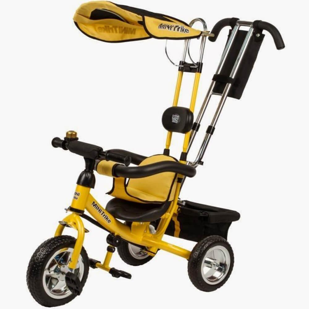 Велосипед 3-х колісний Mini Trike жовтий (LT950airжовтий)
