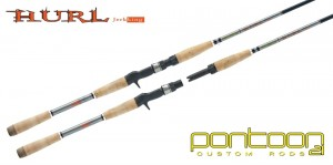 Удилище кастинговое Pontoon 21 Hurl Jerkking 1.8 м, 50-160 г (HRC 60H)