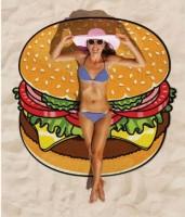 Подарок Подстилка пляжная 'Гамбургер'