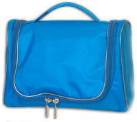 Подарок Дорожный органайзер для косметики 'Premium' (голубой)