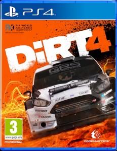 игра DiRT 4 PS4