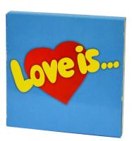Подарок Шоколадный набор на 9 плиточек 'Love is'