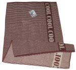 Полотенце махровое Cool, 50х90 см, дизайн 'Lines' мокко