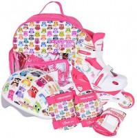 Роликовые коньки раздвижные Tempish Owl Baby skate (комплект) 34-37р