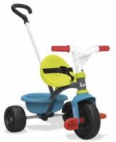 Детский трехколесный велосипед Smoby с багажником (740314)