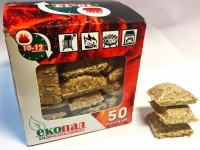 Разжигатель Time Eco 'Екопал-50', 50 брикетов