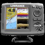 Эхолот-картплоттер Lowrance Hook 5 (000-12655-001)