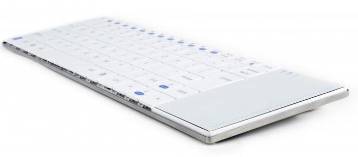 Клавиатура беспроводная Gembird KB-P4-W-UA