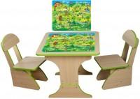 Игровой столик растущий и два стульчика Финекс плюс, игра (303)
