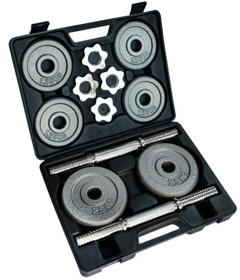 Купить Набор гантелей в кейсе Stein Home Dumbbell Hammer Set Box 20 кг (DB2509)