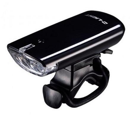 Купить Фара CG-120P (с батарейками, черная, 3 диода, 3 режима), D.Light