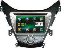 Штатная автомагнитола Cyclon RS HYUNDAI ELANTRA 8