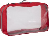 Гермомешок Exped Clear Cube Red (красный) XL