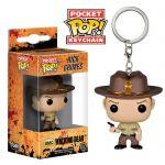 Подарок Брелок Funko Pocket POP! Rick Grimes - The Walking Dead (4451)