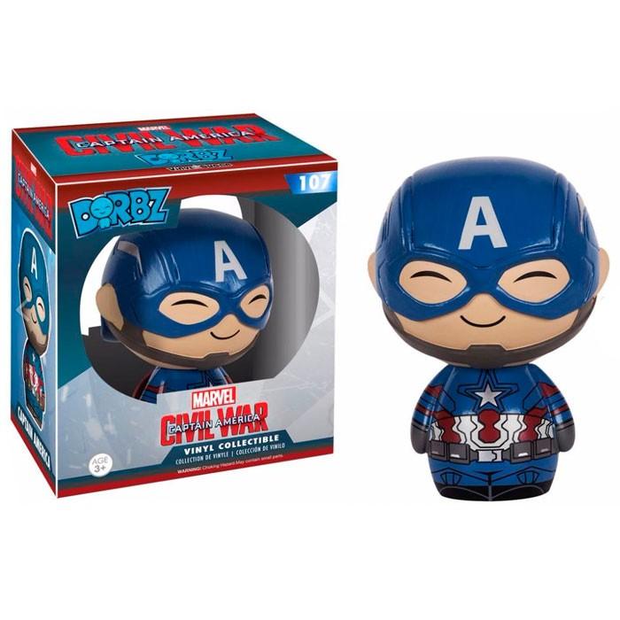 Купить Фигурка Funko Dorbz Captain America - Marvel (7734)