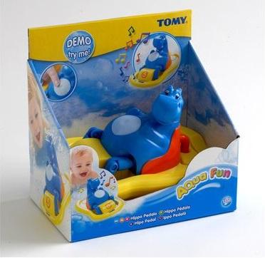 Купить Игрушка для купания Tomy 'Поющий гиппопотам на катамаране' (2161)