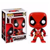 фигурка Фигурка-башкотряс Funko POP! Bobble Deadpool Two Swords - Marvel (7486)