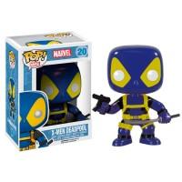 фигурка Фигурка-башкотряс Funko POP! Bobble X-Men Deadpool (Blue and Yellow) - Marvel (4918)