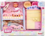 Кукольный набор Simba 'Пупсы Mini NBB и спальная комната' (5036610)
