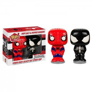 Подарок Солонка и перечница Funko POP! Home Spider-Man и Venom (5601)