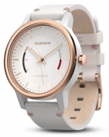 Часы Garmin Vívomove Classic, Rose Gold-Tone with Leather Band (010-01597-11)