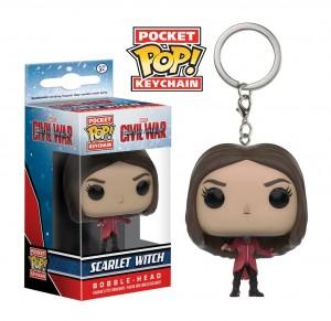 Подарок Брелок Funko Pocket POP! Keychain. Captain America CW - Scarlet Witch (10160)