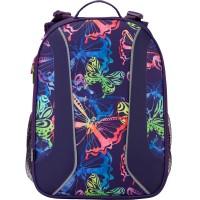 Рюкзак школьный (ранец) Kite 703 'Neon butterfly' K17-703M-1