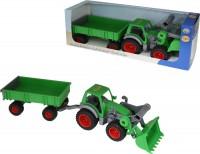 Трактор-погрузчик с прицепом Wader-Polesie 'Фермер-техник' (37770)