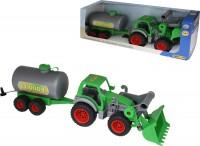 Трактор-погрузчик с цистерной Wader-Polesie 'Фермер-техник' (37763)