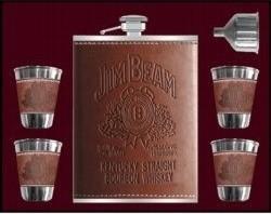 фото Набор для виски с флягой Jim Beam #3