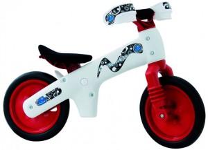 Велосипед (беговел) Bellelli B-Bip белый/красный (BIC-77)