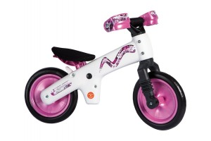 Велосипед (беговел) Bellelli B-Bip белый/розовый (SKD-90-81)