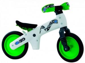 Велосипед (беговел) Bellelli B-Bip белый/зеленый (BIC-75)