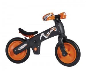 Велосипед (беговел) Bellelli B-Bip черный/оранжевый (SKD-69-84)