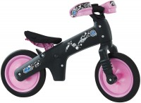 Велосипед (беговел) Bellelli B-Bip черный/розовый (BIC-05)