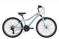 Велосипед Pride 'Lanny 21' 2017 голубой/бирюзовый/малиновый 24