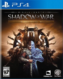 игра Middle-earth: Shadow of War Gold Edition PS4