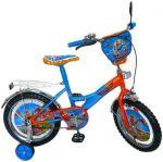 Велосипед двухколесный 7Toys со звонком, зеркалом, с вставками в колесах (141202)